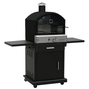 Lifestyle Black Verona Pizza Oven