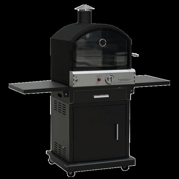 Lifestyle Black Verona Pizza Oven