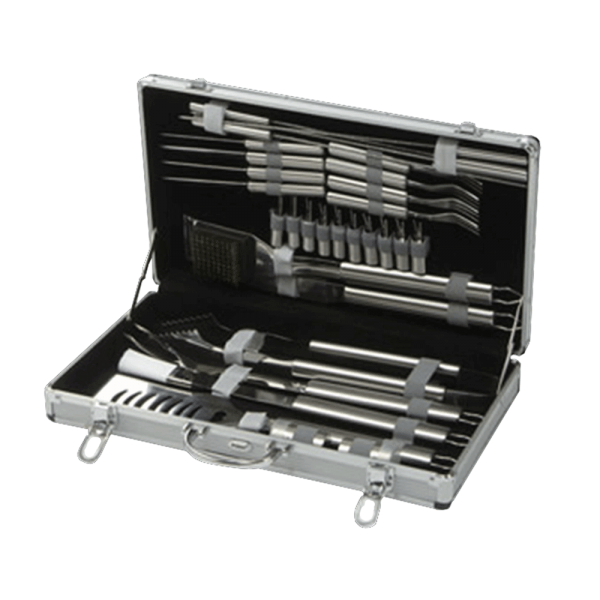 lifestyle appliances 30 peice bbq toolkit LFS157