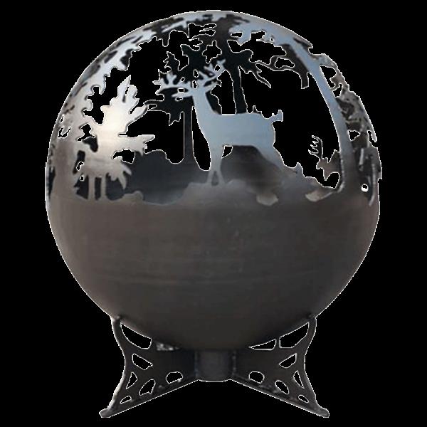 lifestyle appliances deer globe firepit LFS751