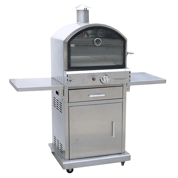 lifestyle appliances milano deluxe pizza oven LFS690