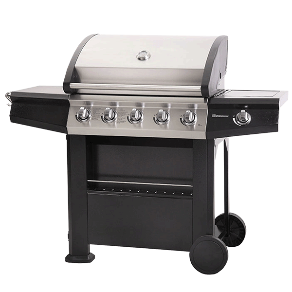 lifestyle appliances dominca gas barbecue lfs683