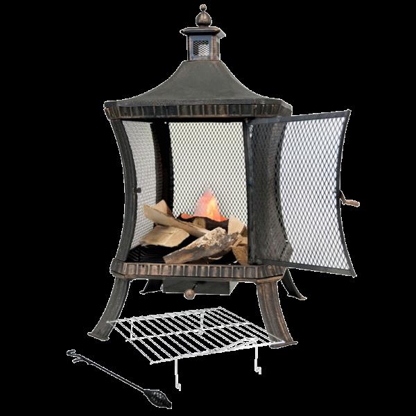 lifestyle appliances hestia firepit LFS706