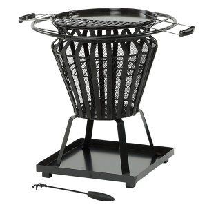 lifestyle appliances signa fire pit basket lfs703
