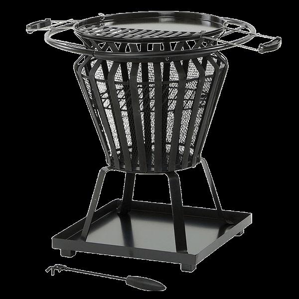 lifestyle appliances signa fire pit basket lfs703