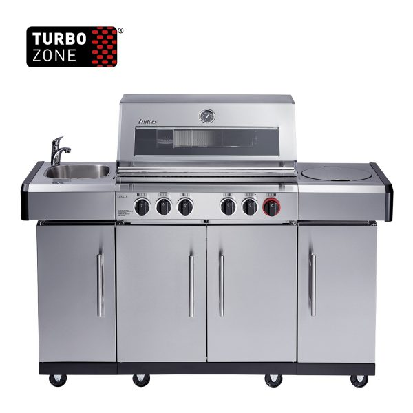Enders® from Lifestyle - Kansas Pro 4 SIK Turbo Gas BBQ