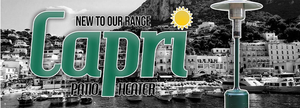 Lifestyle Capri Green Patio Heater 2021