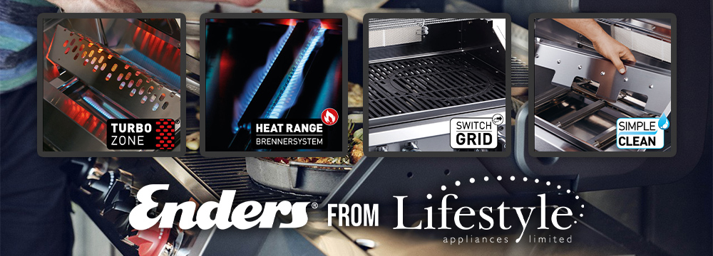 Enders® BBQ Grills Features
