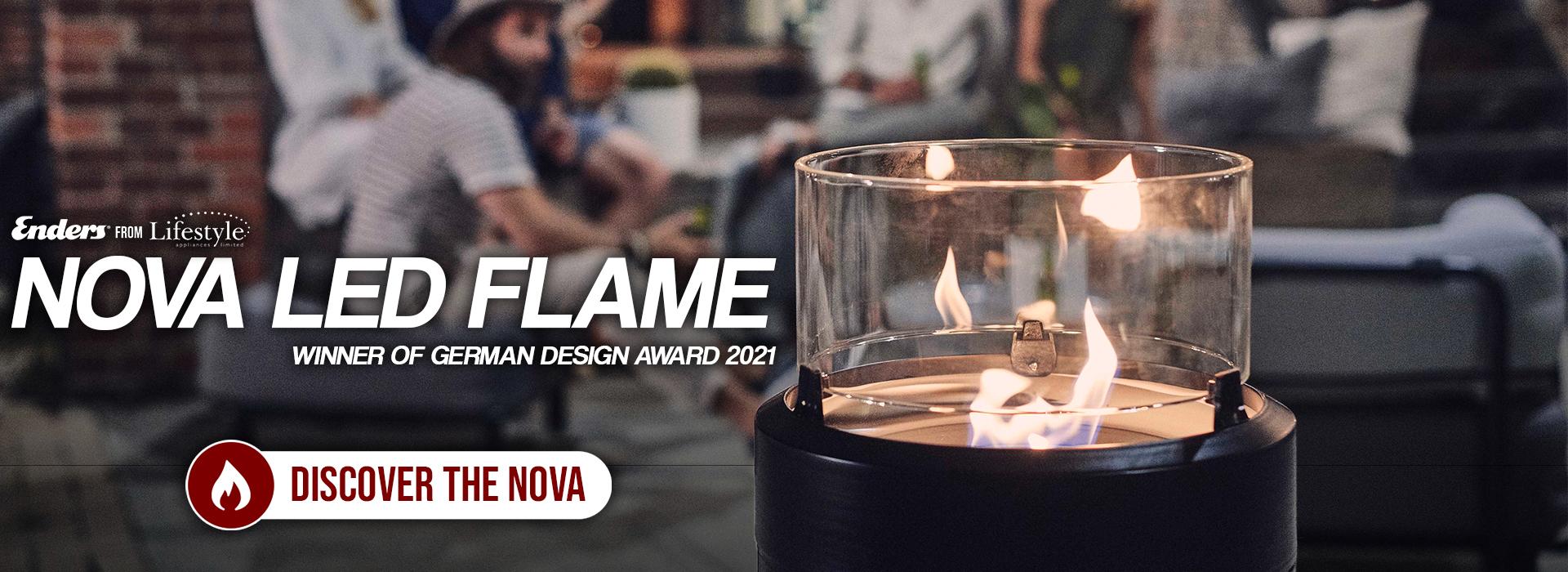 Enders NOVA LED flame fire pit