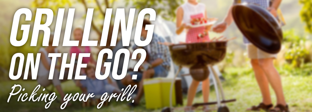 Picking your portable grill this BBQ Season with Lifestyle Appliances